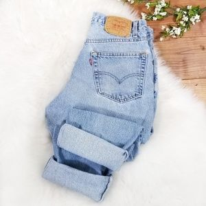 Vintage Levis Relaxed Straight Leg High Rise Jeans